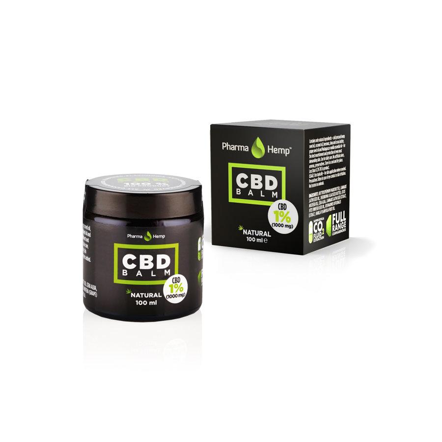 CBD balzams 1% 100ml, PharmaHemp