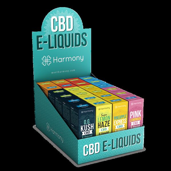 Harmony CBD vape šķidrums (dažādas garšas)