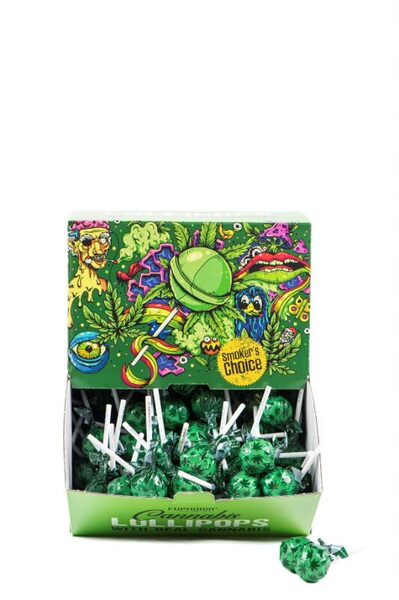 Kaņepju sūkājamā konfekte 1 gab, 12g (EUPHORIJA)
